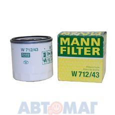 Фильтр масляный MANN W 712/43