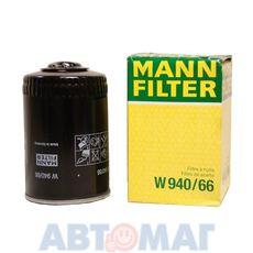 Фильтр масляный MANN W 940/66