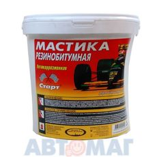 ХТП Мастика резинобитумная  3,0 л