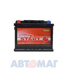 Аккумулятор EXTRA START (Катод) - 55 А/ч 480А +L