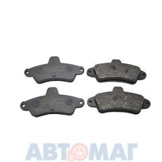 21586 колодки зад.Bendix Ford Mondeo, Cougar 15 мм MEYLE