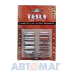 Предохранители цилиндрические TESLA F151 к-т (5x8A+5x16A)