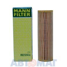 Фильтр масляный MANN HU 514 x