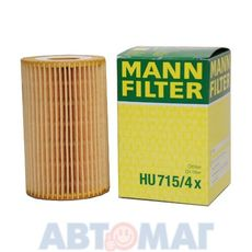 Фильтр масляный MANN HU 715/4 x