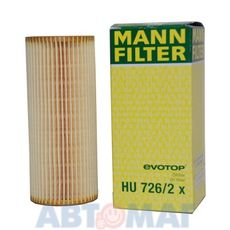 Фильтр масляный MANN HU 726/2 x