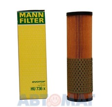 Фильтр масляный MANN HU 736 x