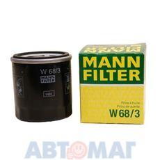 Фильтр масляный MANN W 68/3