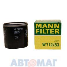 Фильтр масляный MANN W 712/83