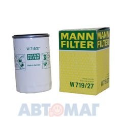Фильтр масляный MANN W 719/27