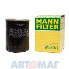 Фильтр масляный MANN W 830/1
