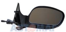 Зеркало ВАЗ 2110 ПОЛИТЕХ правое голубое с обогревом и поворотн.