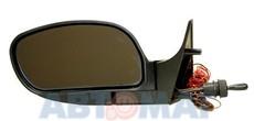Зеркало ВАЗ 2110 ПОЛИТЕХ левое голубое с обогревом и поворотн.