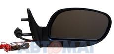 Зеркало ВАЗ 2115 ПОЛИТЕХ правое голубое с обогревом и поворотн.