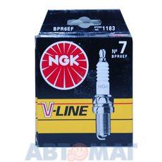 Комплект свечей зажигания NGK V-Line №7 BPR6EF (4шт)