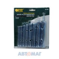 Ключи трубчатые свечные набор 10шт. 6-22 мм