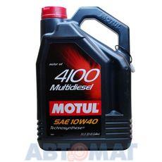 Масло моторное Motul 4100 Multidiesel 10w40 5л полусинтетическое