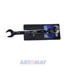 14-7113-5 Ключ комбинированный с реверсом-шарниром 13мм CrV GeeTee
