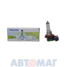 Автолампа PHILIPS LongLife Eco H11 55W 12V