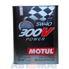 Масло моторное Motul 300V Power 5w40 2л синтетическое