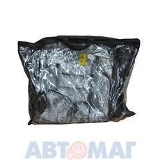 Чехлы автомобильные ТРИО+ жаккард-кожзам, ВАЗ 2106, мрамор т-серый/листья серые (серебро)