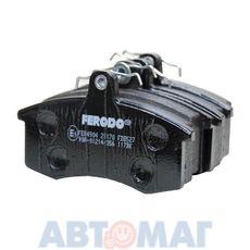 Колодки тормозные ВАЗ 2108-15 передние FERODO PREMIER FDB527 (к-т 4 шт.)