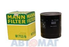 Фильтр масляный MANN W 712/6