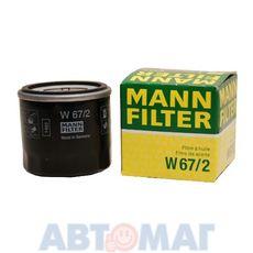 Фильтр масляный MANN W 67/2
