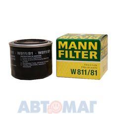 Фильтр масляный MANN W 811/81