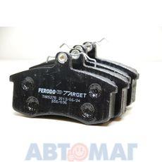 Колодки тормозные ВАЗ 2108-15 передние FERODO TARGET TAR527B (к-т 4 шт.)