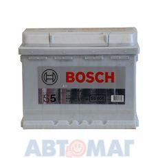 Аккумулятор BOSCH S5 Silver Plus 563 400 061 (0092S50050) - 63 А/ч 610 А