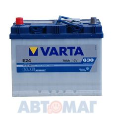 Аккумулятор VARTA Blue Dynamic E24 570 413 063 - 70 А/ч 630 А