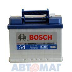Аккумулятор BOSCH S4 Silver 560 127 054 (0092s40060) - 60 А/ч 540 А