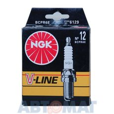 Комплект свечей зажигания NGK V-Line №12 BCPR6E (4шт)