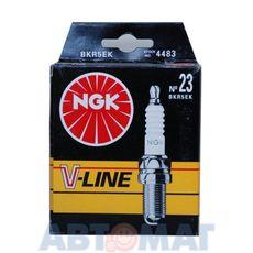 Комплект свечей зажигания NGK V-Line №23 BKR5EK (4шт)