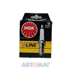Комплект свечей зажигания NGK V-Line №31 PTR5D-10 (4шт)