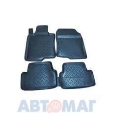 Ковры салонные резин. Honda Accord 2008- HD 69 08 (к-т)