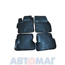 Ковры салонные резин. Mazda 3 2003- MZ 25 03 (к-т)