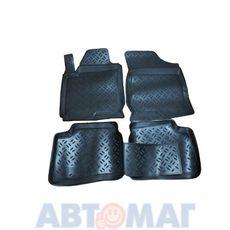 Ковры салонные резин. Kia Ceed 2006- KI 54 06 (к-т)