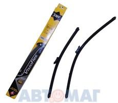 Комплект бескаркасных щеток стеклоочистителя SWF VISIOFLEX Alternative 742 - 550мм + 500мм