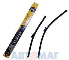 Комплект бескаркасных щеток стеклоочистителя SWF VISIOFLEX Alternative 761 - 600мм + 450мм