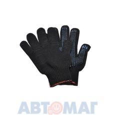 Перчатки х/б с резин.защитой 2-х сторонние (к-т 2шт)