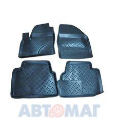 Ковры салонные резин. Ford C-Max 2003- FD 80 03 (к-т)