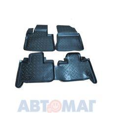 Ковры салонные резиновые BMW X5 E53 1999- BW 105 99 (к-т) (Россия)