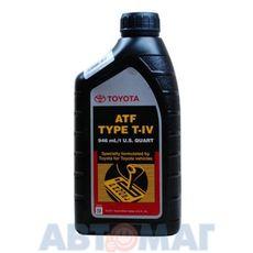 Жидкость для АКПП Toyota ATF Type-T-IV 1л