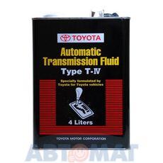 Жидкость для АКПП Toyota ATF Type-T-IV 4л