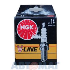 Комплект свечей зажигания NGK V-Line №14 BKR6E-11 (4шт)