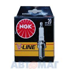 Комплект свечей зажигания NGK V-Line №20 BKR6EK (4шт)