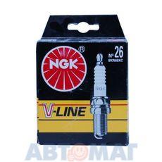 Комплект свечей зажигания NGK V-Line №26 BKR6EKC (4шт)