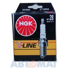Комплект свечей зажигания NGK V-Line №28 BKR6E (4шт)