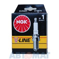 Комплект свечей зажигания NGK V-Line №1 BUR6ET (4шт)